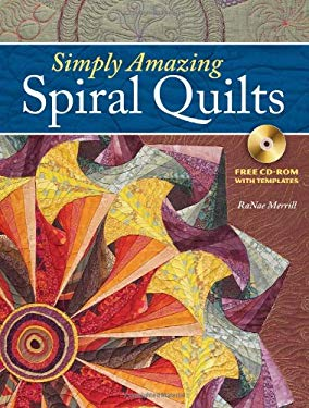 Simply Amazing Spiral Quilts Simply Amazing Spiral Quilts 9780896896536