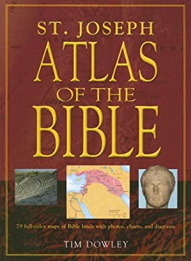 Saint Joseph Atlas of the Bible 9780899426556