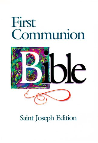 Saint Joseph First Communion Bible-NABRE 9780899429557