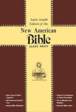 Saint Joseph Giant Print Bible-NABRE 9780899426174