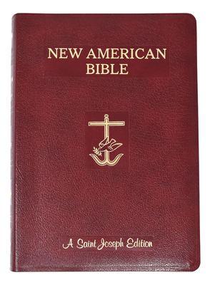 Saint Joseph Giant Print Bible-NABRE 9780899425849