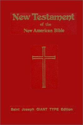 St. Joseph Giant Print New Testament 9780899423135