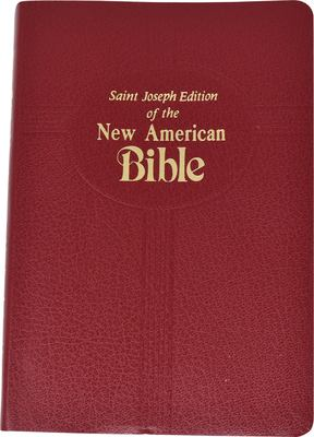 Saint Joseph Medium Size Bible-NABRE 9780899429526