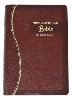 Saint Joseph Medium Size Gift Bible-NABRE 9780899426433