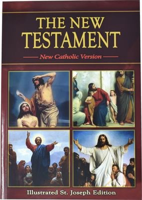 Saint Joseph New Testament-Nab 9780899423111