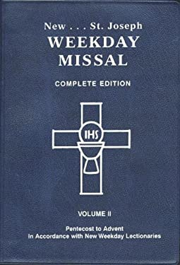 Saint Joseph Weekday Missal (Vol. II/Pentecost to Advent) 9780899429328