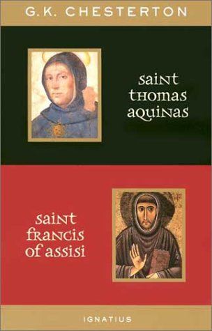 St. Thomas Aquinas and St. Francis of Assisi 9780898709452