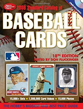 Standard Catalog of Baseball Cards [With CDROM] 9780896896482