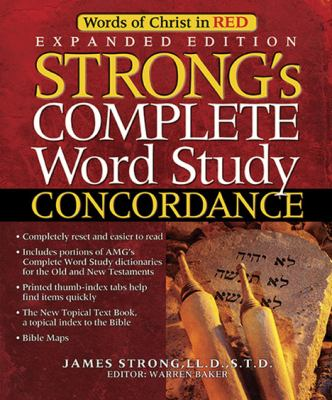Strong's Complete Word Study Concordance [With CDROM] 9780899571263
