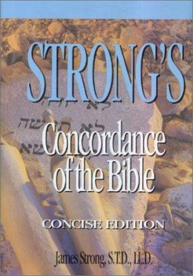 Strong's Concordance of the Bible 9780899576688