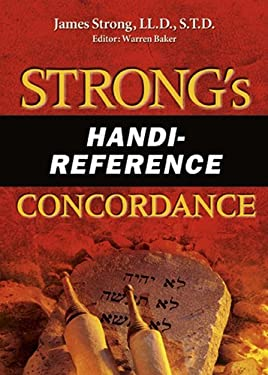 Strong's Handi-Reference Concordance 9780899571195