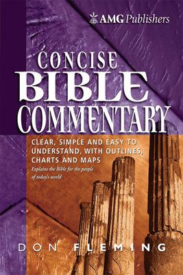 Amg Concise Bible Commentary Amg Concise Bible Commentary 9780899576725