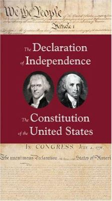 The Declaration of Independence/The Consitution of the United States 9780891951124