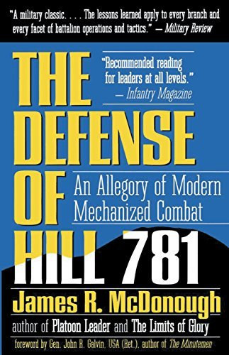 The Defense of Hill 781: An Allegory of Modern Mechanized Combat 9780891414759