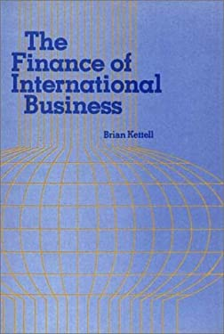 The Finance of International Business. 9780899300115