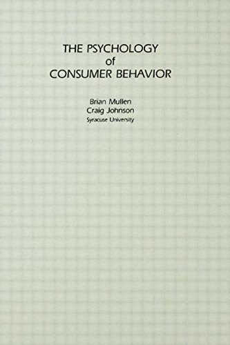 The Psychology of Consumer Behavior 9780898598575