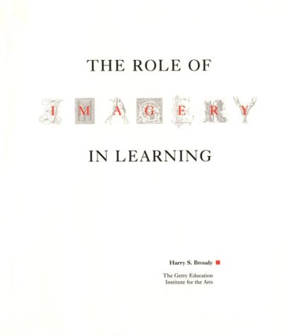 The Role of Imagery in Learning 9780892361458