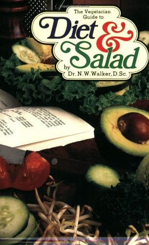 The Vegetarian Guide to Diet & Salad 9780890190340