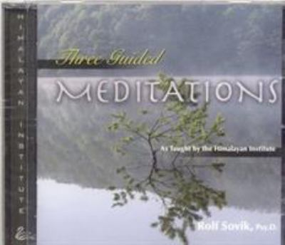 Three Guided Meditations 9780893892654
