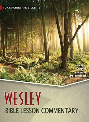 Wesley Bible Lesson Commentary 9780898274677