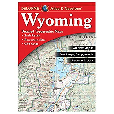Wyoming Atlas & Gazetteer 6/E 9780899333380