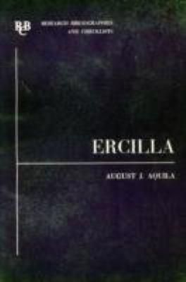 Alonso de Ercilla y Zuniga: A Basic Bibliography 9780900411939