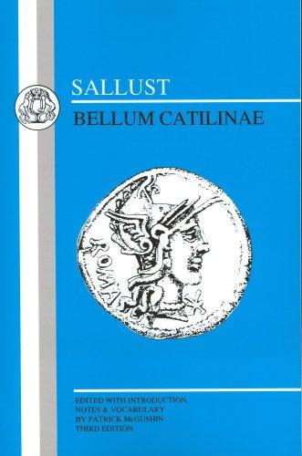 Sallust: Bellum Catilinae 9780906515198