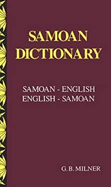 Samoan Dictionary: Samoan-English, English-Samoan 9780908597123