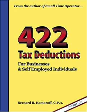 422 Tax Deductions for Businesses and Self Employed Individuals 9780917510267