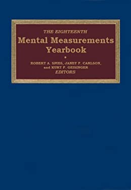 Mental Measurements Yearbook 9780910674614
