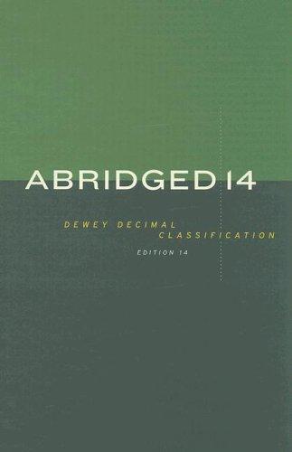 Abridged Dewey Decimal Classification and Relative Index 9780910608732
