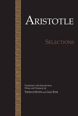 Aristotle: Selections 9780915145676