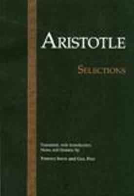Aristotle: Selections 9780915145683