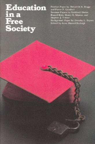 Education in a Free Society 9780913966457