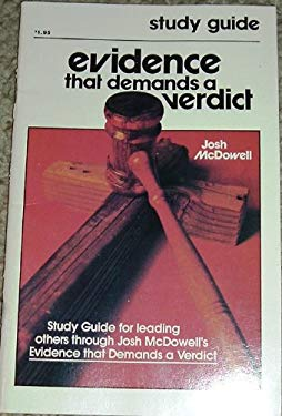 Evidence That Demands A Verdict Study Guide by Josh McDowell (1978-05-03)