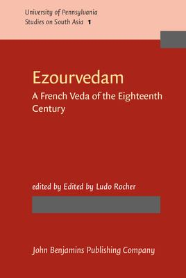 Exourvedam: A French Veda of the Eighteenth Century 9780915027057