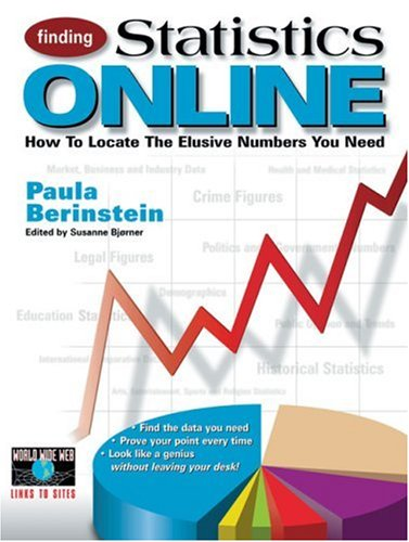 Finding Statistics Online: How to Locate the Elusive Numbers You Need 9780910965255