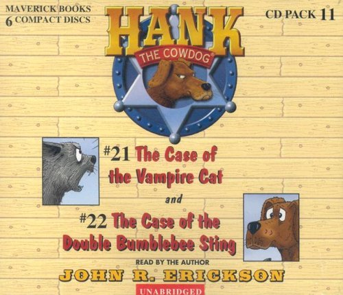 Hank the Cowdog: The Case of the Vampire Cat/The Case of the Double Bumblebee Sting 9780916941918