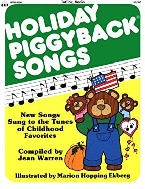 Holiday Piggyback Songs 9780911019186