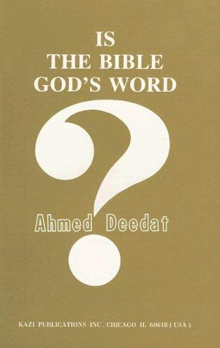 Is the Bible God's Word? 9780916157739