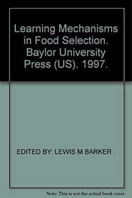 Learning Mechanisms Food Selection 9780918954190