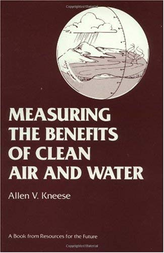 Measuring the Benefits of Clean Air and Water 9780915707096