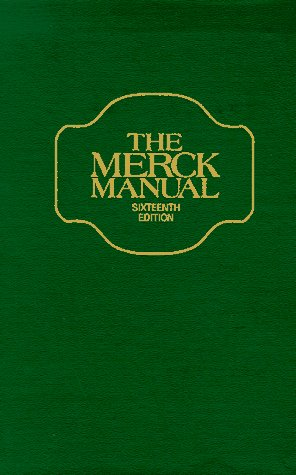Merck Manual 9780911910162