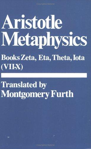 Metaphysics: Zeta, Eta, Theta, Iota 9780915145904