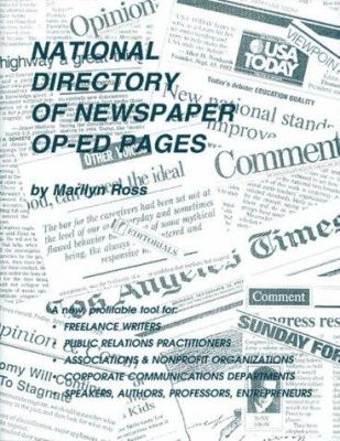 National Directory of Newspaper Op-Ed Pages 9780918880178