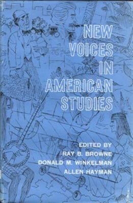 New Voices in American Studies 9780911198102