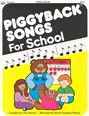 Piggyback Songs for School 9780911019445