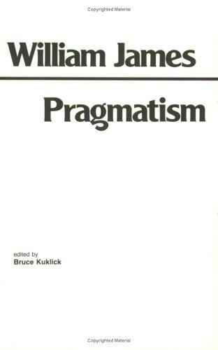 Pragmatism 9780915145058