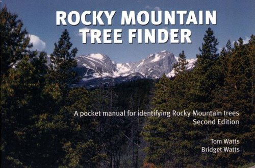 Rocky Mountain Tree Finder: A Pocket Manual for Identifying Rocky Mountain Trees 9780912550299