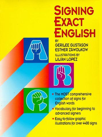 Signing Exact English 9780916708238